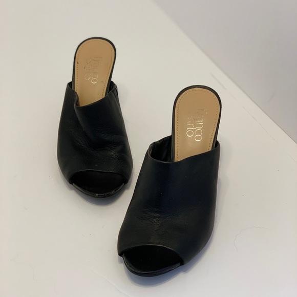 Franco Sarto Shoes - Franco Sarto — Black Leather Heels (7)